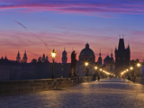 Europe, Czech Republic, Central Bohemia Region, Prague, Charles Bridge