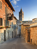 Italy, Umbria, Perugia District, Assisi, Basilica of Santa Chiara