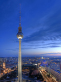 Germany, Berlin, Alexanderplatz, Tv Tower (Fernsehturm)