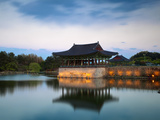 Korea, Gyeongsangbuk-Do, Gyeongju, Anapji Pond