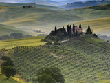 Italy, Tuscany, Siena District, Orcia Valley, Podere Belvedere Near San Quirico D'Orcia