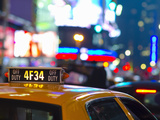 USA, New York, Manhattan, Midtown, Times Square Photographic Print