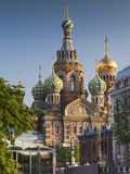 Russia, St. Petersburg, Center, Church of the Saviour of Spilled Blood on Griboedov Canal