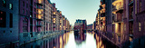 Germany, Hamburg, Warehouses and New Apartments in the Converted Speichrstadt District