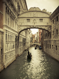 Buy Bridge of Sighs, Doge's Palace, Venice, Italy at AllPosters.com