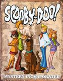 Scooby Doo Gang Retro Tin Sign