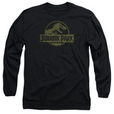Long Sleeve: Jurassic Park - Distressed Logo