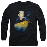 Long Sleeve: Star Trek - Data 25th