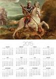 St. George Slaying the Dragon Poster Calendar