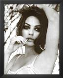 Mila Kunis Black and White Movie Poster Print
