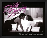 Dirty Dancing Movie Patrick Swayze Dancing Jennifer Grey 80s Poster Print