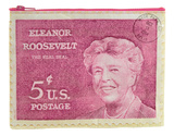 Eleanor Roosevelt Zipper Pouch