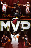 LeBron James Miami Heat 2012 NBA Finals MVP