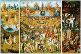 The Garden of Earthly Delights, c.1504 Poster