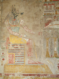 Paintings on the Second Level of the Temple of Hatshepsut (Deir Al-Bahn)