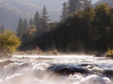 The Rogue River in the Southwestern Part of Oregon Flows About 215 Miles