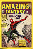 Spider-Man Amazing Fantasy 15 Comic Poster Poster