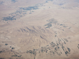 Flying over Iran Showing the Geology and Irrigated Fields