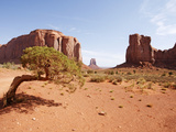 Monument Valley on the Navajo Indian Reservation, North Window, Arizona, USA