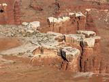Canyonlands National Park, Grand View Overlook, White Rim