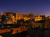 San'A by Night, Yemen