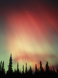 Aurora Borealis, Northern Lights, Alaska Range Mountains, Alaska, USA