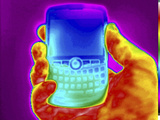 Thermogram of a Blackberry