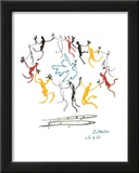 The Dance of Youth Framed Art Print