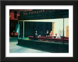 Nighthawks, c.1942 Framed Art Print
