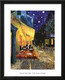 Buy Vincent Van Gogh Cafe Terrace At Night Art Print Poster at AllPosters.com