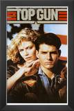 Top Gun Movie Tom Cruise and Kelly McGillis 80s Poster Print
