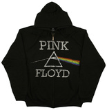 Zip Hoodie: Pink Floyd - Dark Side Classic T-Shirt