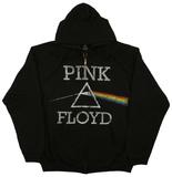 Zip Hoodie: Pink Floyd - Dark Side Classic