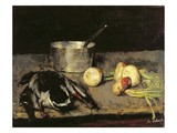 Still Life with Casserole and Wild Duck, 1885 (Oil on Canvas)