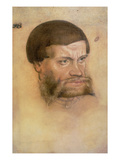 Portrait Thought to Be of John the Steadfast, Elector of Saxony,(Crayon and W/C)