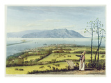 Kingston and Port Royal from Windsor Farm, from 'A Pictureseque Tour of the Island of Jamaica'