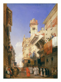 Corso Sant'Anastasia, Verona (Oil on Panel)