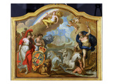 Allegory of the Power of Great Britain by Sea, Design for a Decorative Panel