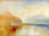 Inverary Pier, Loch Fyne, Morning, C.1840-50 (Oil on Canvas)