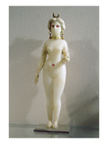 Statuette of a Female Nude, known also as the Great Babylonian Goddess Ishtar, 3rd-2nd Century BC