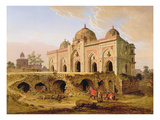 The Qal' A-L-Kuhna Masjid, Purana Qila, Delhi, C.1823 (Oil on Canvas)