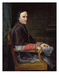 Georges Darboy (1813-71) Archbishop of Paris, 1878 (Oil on Canvas)