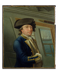 Portrait of Captain William Locker (1731-1800) 1769 (Oil on Canvas)