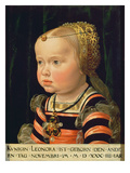 Archduchess Eleanor of Mantua (1534-94), Aged Two (Panel)