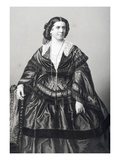 Madame Anna Bishop (1810-84) Engraved by D.J. Pound from a Photograph