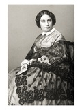 Madame Caroline Marie Felix Miolan-Carvalho (C.1827-95) Engraved by D.J. Pound from a Photograph