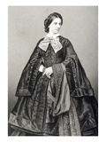 Mademoiselle Victoire Balfe (1837-71) Engraved by D.J. Pound from a Photograph