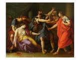 The Death of Lucretia, 1763-67 (Oil on Canvas)
