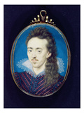 Dudley North (1581-1617) 3rd Baron North, 1608-10 (Bodycolour on Vellum Laid onto Card)