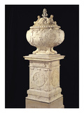 Funerary Urn Containing the Heart of Francois I (1494-1547) 1556 (Marble)